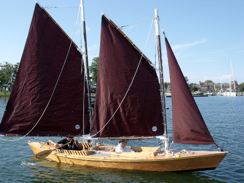 Single-handed Schooner in 18 Feet - A Variation on a Theme by Bolger (continued)